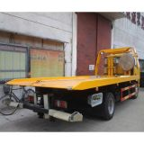 LHD Isuzu 600p 4X2 flaches Bettwrecker-LKW