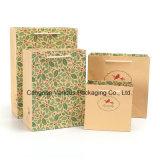 Aufbereiteter Dame-Papierbeutel für Kleidung