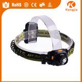 공장 판매 대리점 가격 플라스틱 최고 동굴 탐험 Headlamp LED Headlamp 달리기