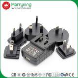 Auswechselbarer beweglicher Energien-Adapter der USB-Energien-Aufladeeinheits-5V2a für Notizbuch