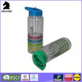 Silikon-Band-Wasser-Flasche des Shine-750ml