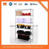Клетки хранения цинка поверхностные стальные с колесами, Lockable клеткой для Вьетнама
