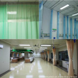 Flama das cortinas da divisória da parede do hospital - pano retardador