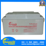 Batería de la larga vida de la fábrica SLA de la batería 12V 12V65ah del gel