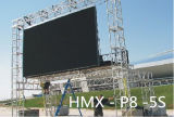 Outdoor P8 SMD3535 8mm Pixel 320mm * 160mm RGB LED Display Panel