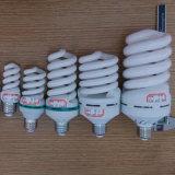 22W 24W 26W espiral completa halógena / mixta / Tri-color de 2700K-7500K E27 / B22 220-240V lámpara ahorro de energía