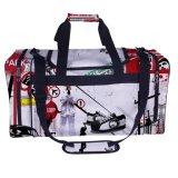 sacchetto promozionale di calcio del Duffle delle ragazze di marchio di esercitazione del poliestere 600d