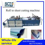Машина резца ткани, пластичный крен для того чтобы покрыть автомат для резки
