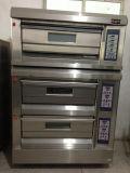 ベーキングパン機械、3デッキ6の皿の電気オーブン