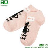 Серые носки лодыжки хлопка оптовой продажи кота