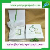 색깔 리본 장식용 상자 결혼식 형식 보석함 호의 상자 선물 상자 마분지 수송용 포장 상자
