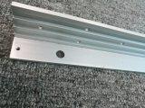 6063 y perfil de aluminio sacado trabajado a máquina anodizado modificado para requisitos particulares 6082