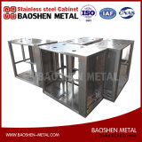 Изготовление металлического листа обрабатывая поставщика Китая нержавеющей стали подгонянного раковиной
