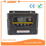 Suoer 60A 12V 24V Sonnenenergie-Controller mit Ce&RoHS (ST-W1260)
