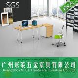Mesa contemporânea do diretor escritório do gerente do frame de aço