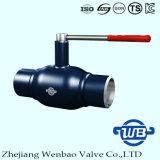 GOST Todo soldado puerto estándar de acero Válvula de bola de China