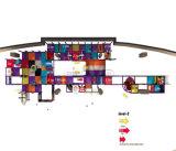 Beifall-Unterhaltungs-Platz-Thema-Innenspielplatz-Gerät
