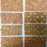부대 또는 단화 (HTS047)를 위한 튼튼한 연약한 Wood-Grain PU 가죽