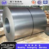 Matériau de construction Gi Galvanized Steel Coil Z275 (Revêtement: 60G / M2-300G / M2) 0.1mm-5mm Spang ordinaire et Zero Spangle