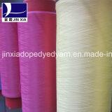 400d/288fポリエステルフィラメントヤーンDTYのドープ塗料によって染められる織り目加工ヤーン