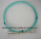 Lc-LC Multimode DuplexOm2 Koord van het Flard van de Kabel van de Vezel Optische