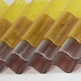 Strati di plastica ondulati liberi e colorati del tetto del policarbonato per la serra