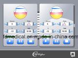 Nieuwste Technologie Cellulite die de Gemakkelijke Machine van het Vermageringsdieet van het Lichaam van Cryolipolysis van het Gebruik met Ce oplossen