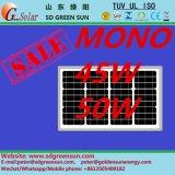 модуль 18V 45W 50W Mono солнечный (2017)