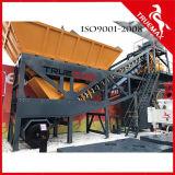 Centrale de malaxage concrète mobile moyenne de la machine 60m3/H de construction