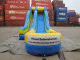 Diapositiva de agua inflable del parque del acontecimiento grande para los adultos y los cabritos