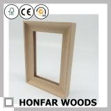 Bâti debout de photo d'illustration en bois de chêne en bois solide pour la décoration à la maison