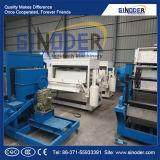 Moulage de pulpe de papier de rebut et carton d'oeufs de plateau d'oeufs formant le plateau de /Fruit de machine faisant la machine