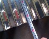 telhadura de aço revestida de 0.13-0.80mm Corrguated Aluzinc, folha galvanizada do perfil