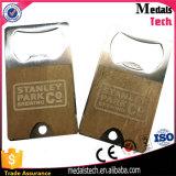 Apri di bottiglia militare in lega di zinco della modifica di cane del metallo con smalto molle
