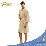 Schlaf-Robe der Baumwollwaffel-Bademantel-100% und der Terry-Bademäntel