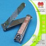 Клипер ногтя качества Кореи люкс с резиновый поверхностной ручкой