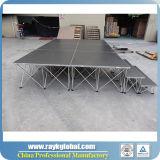 Этап Китай алюминиевого портативного этапа складывая