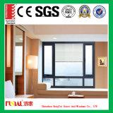 Guichet en aluminium enduit de poudre/profil en aluminium Windows