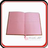 Bürozubehör-hölzernes Beschaffenheit PU-Anmerkungs-Buch mit unterschiedlicher Größe
