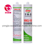 Adhesivo de pared de cortina Sellador de silicona acético (WMQ-168)