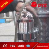 destilaria do teste de laboratório 100L micro com a coluna do Reflux para a vodca