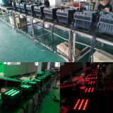 20X12W DMX Stage Lighting Flat Outdoor RGBW LED PAR