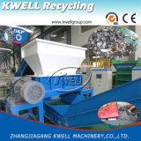 Máquina plástica do Shredder do eixo do dobro do caso de embalagem