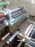 Etiqueta adhesiva, Posicionamiento automático de película de estampado en caliente de perforación máquina troqueladora