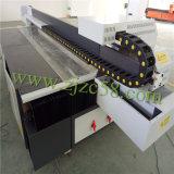 Impresora plana ULTRAVIOLETA del color de Cmyklclm+Ww 8 para MDF/Glass