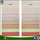 Tela tejida apagón impermeable casero de la cortina del telar jacquar del poliester del franco de la materia textil para la ventana