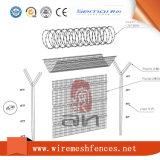 安い溶接された鉄の塀の3Dによって曲げられる金網の塀のパネル