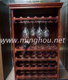 108 زجاجة خمر أثاث لازم منزل خمر عرض حامل قفص جديد [دتي] خمر من