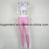 Sportswear для женщин, износ гимнастики, резвится верхние части/кальсоны