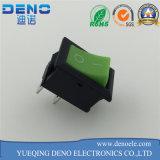 Eje de balancín Swith del color verde Kcd01 con 2 el Pin del Pin 3